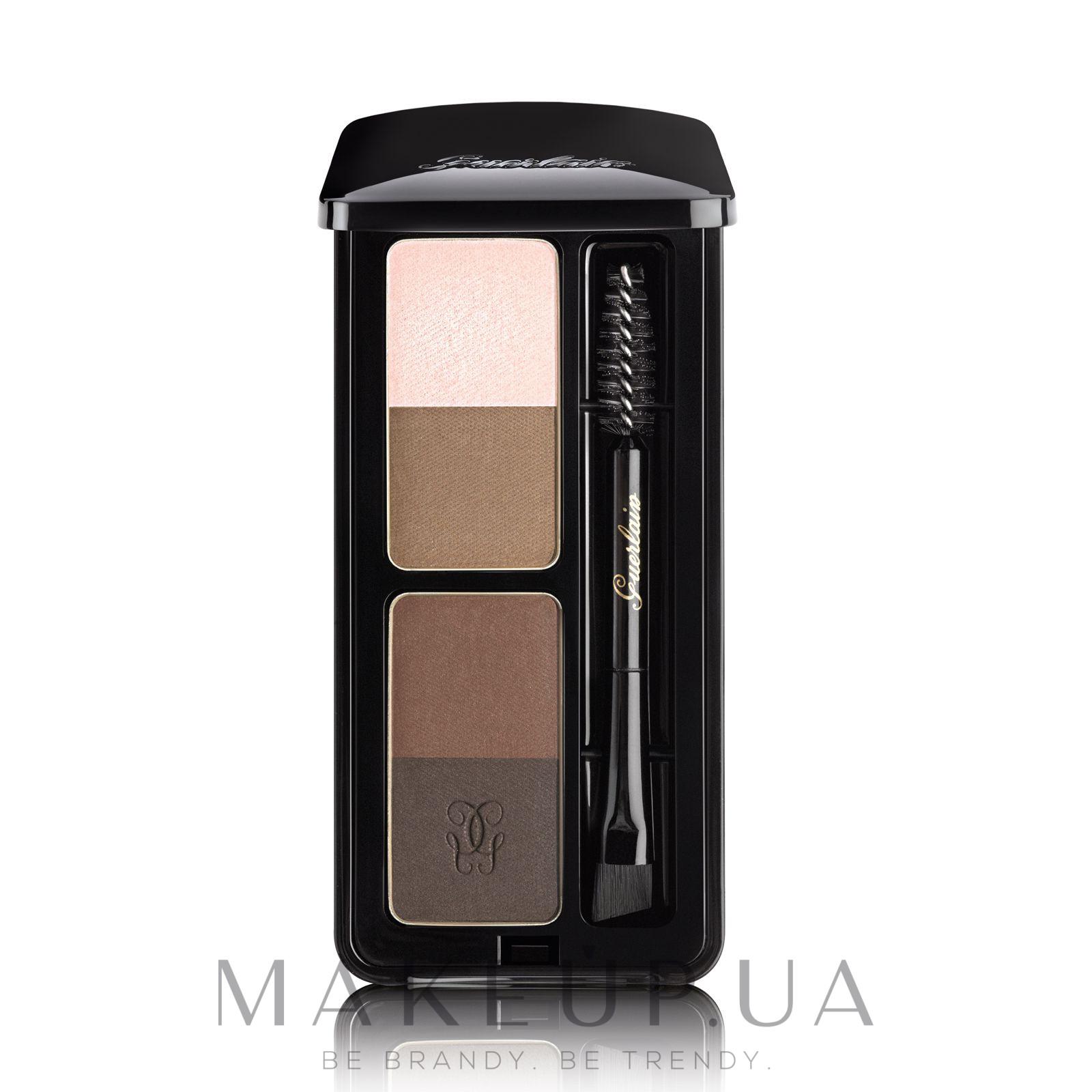 Набор для макияжа бровей - Guerlain Eyebrow Kit — фото 00 - Universel