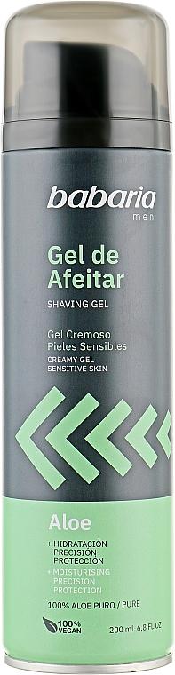 Гель для бритья - Babaria Aloe Vera Rasiergel