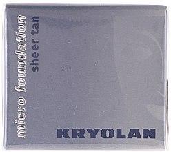 Духи, Парфюмерия, косметика Водостойкая тональная основа в муссе - Kryolan HD Micro Foundation Sheer Tan
