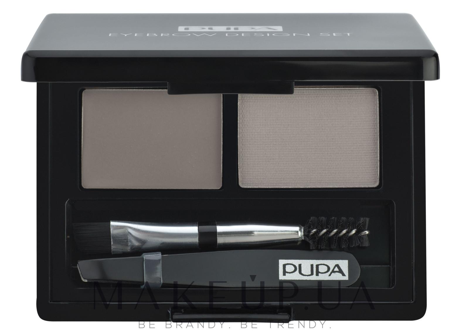 Набор - Pupa Design Eyebrow — фото 01 - Blonde