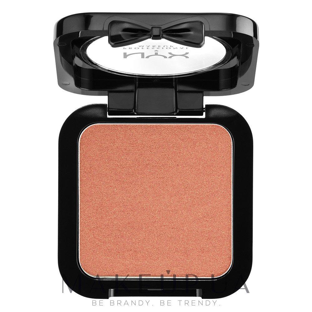 Румяна - NYX Professional Makeup High Definition Blush — фото 01 - Bronzed