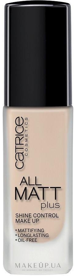 Catrice All Matt Plus Shine Control Make Up - Матирующая