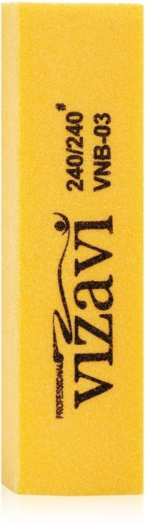 Баф желтый 240х240 - Vizavi Professional