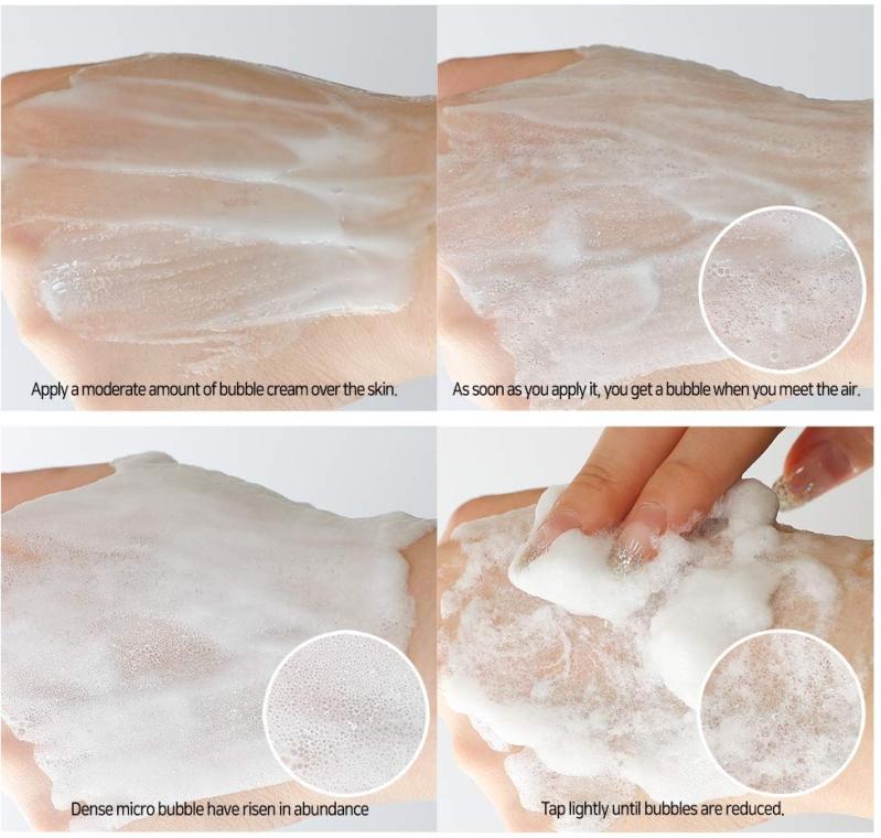 Омолаживающий пузырьковый крем для лица - Elizavecca Peptide 3D Fix Elastic Bubble Facial Cream — фото N6
