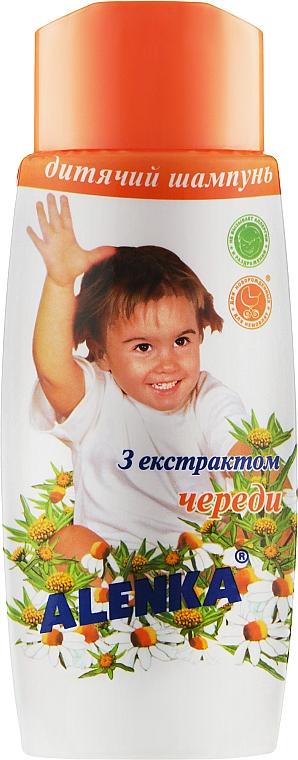 Детский шампунь с экстрактом череды - Alenka