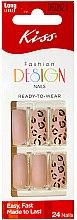 Парфумерія, косметика Набір накладних нігтів - Kiss Fashion Design Nails