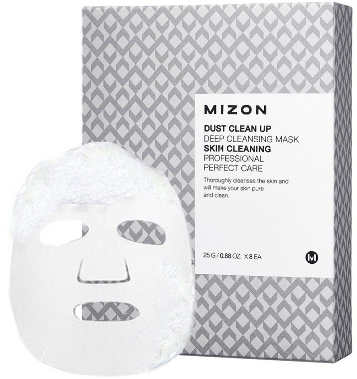 Глубоко очищающая маска - Mizon Dust Clean up Deep Cleansing Mask