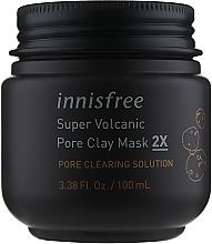 Духи, Парфюмерия, косметика Вулканическая маска для очищения пор - Innisfree Super Volcanic Pore Clay Mask