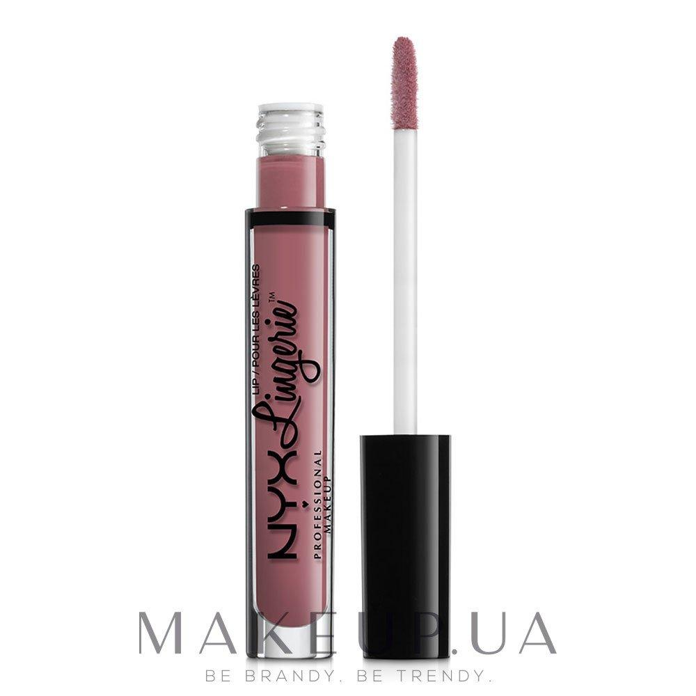 Жидкая матовая помада - NYX Professional Makeup Lip Lingerie Liquid Lipstick — фото 02 - Embellishment