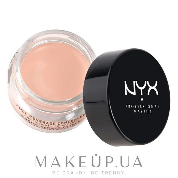 Консилер - NYX Professional Makeup Concealer In A Jar — фото 02 - Fair