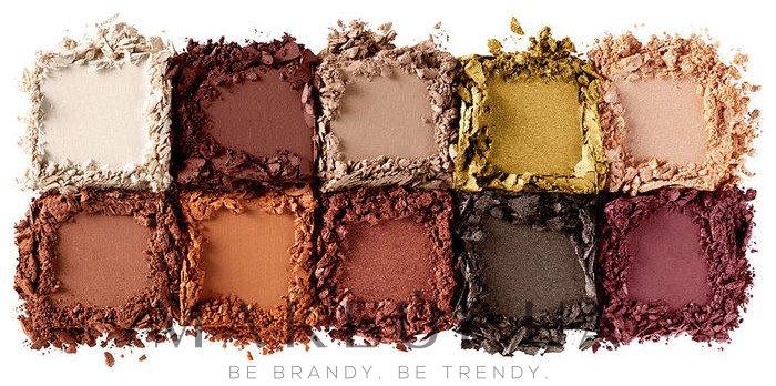 Палетка теней для век - NYX Professional Makeup Perfect Filter Shadow Palette — фото 02 - Rustic Antiqu