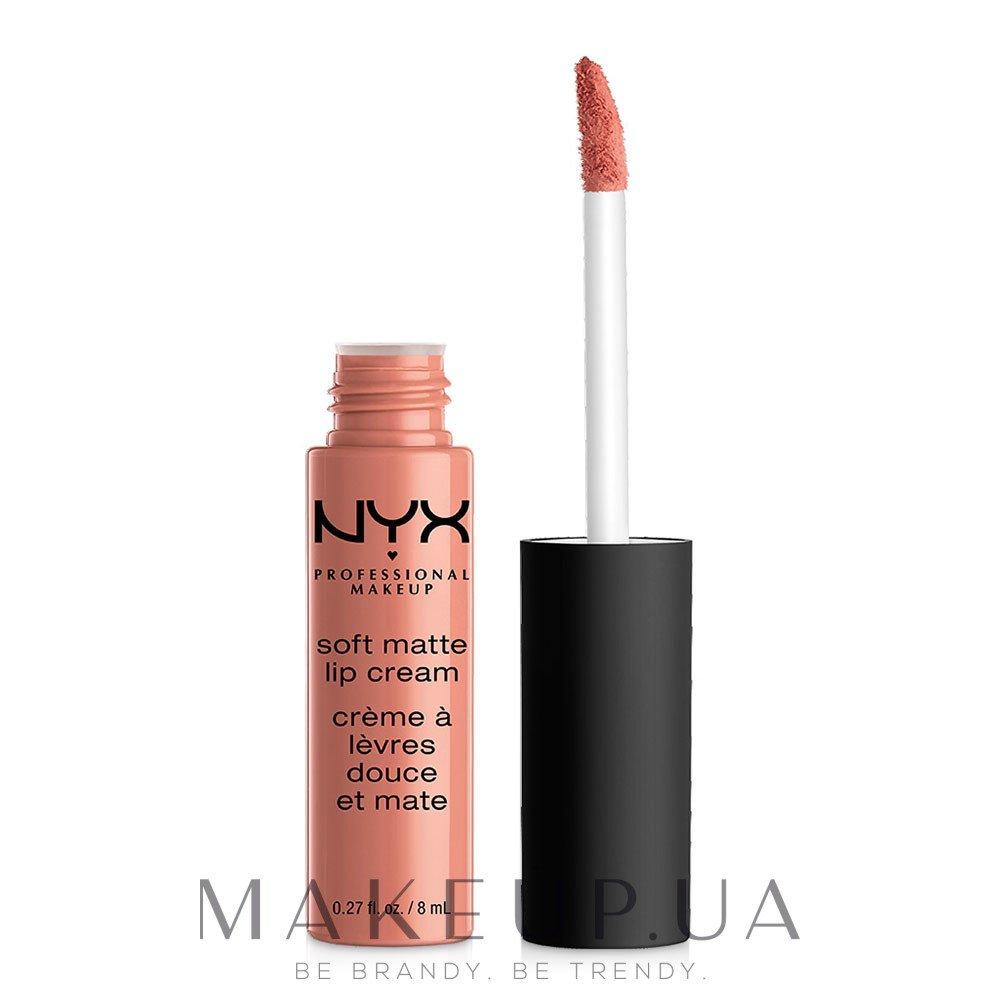 Жидкая помада для губ - NYX Professional Makeup Soft Matte Lip Cream — фото 02 - Stockholm