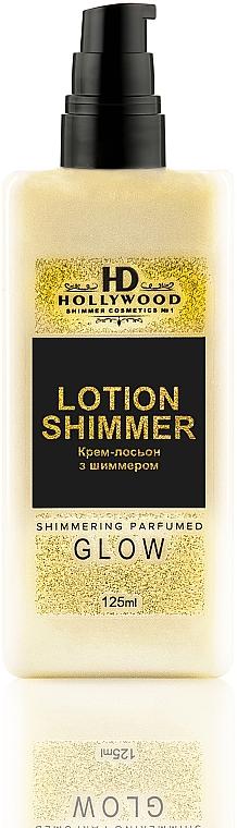Крем-лосьон с шиммером для тела - HD Hollywood Lotion Shimmer