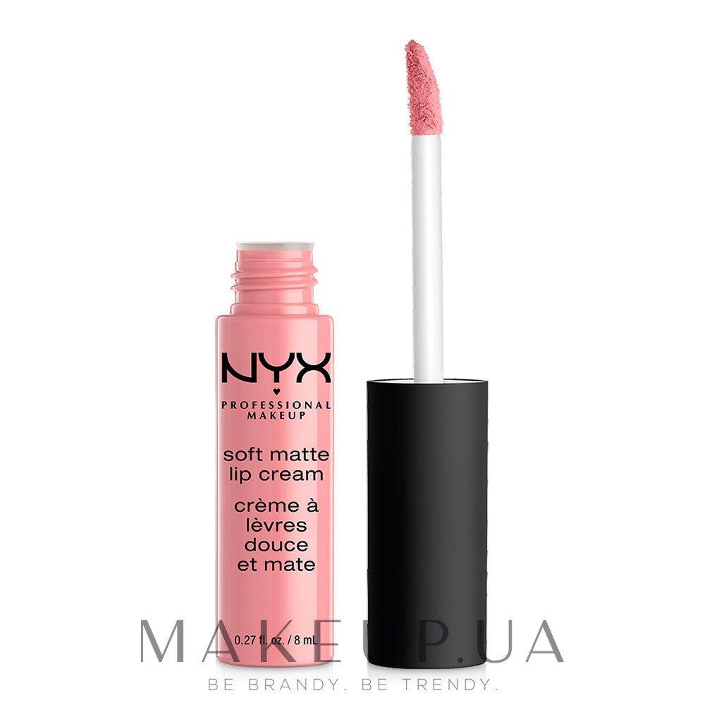 Жидкая помада для губ - NYX Professional Makeup Soft Matte Lip Cream — фото 03 - Tokyo
