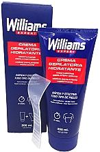Духи, Парфюмерия, косметика Крем для депиляции для мужчин - Williams Crema Depilatoria Moisturizing