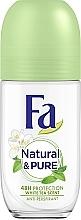 Парфумерія, косметика Роликовий антиперспірант - Fa Deodorant Природна свіжість