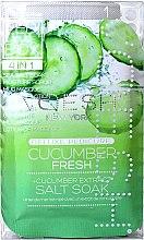 "Духи, Парфюмерия, косметика Набор для педикюра ""Огуречная свежесть"" - Voesh Pedi In A Box Deluxe Pedicure Cucumber Fresh"