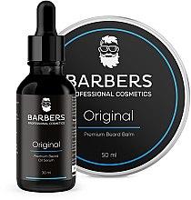 Духи, Парфюмерия, косметика Набор - Barbers Original (beard/oil/30ml + beard/balm/50ml)
