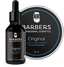 Парфумерія, косметика Набір - Barbers Original (beard/oil/30ml + beard/balm/50ml)