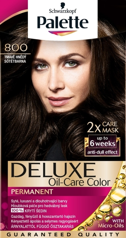 Краска для волос - Palette Deluxe Oil-Care Color