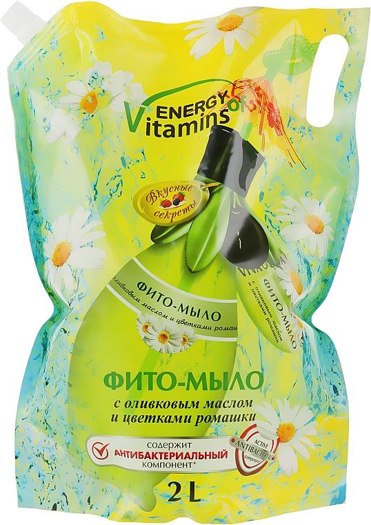 """Жидкое мыло """"Антибактериальное"""" - Viva Oliva (дой-пак)"""