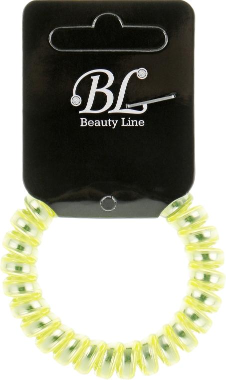 Резинка для волос, 405003, салатово-серебристая - Beauty Line