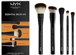 Духи, Парфюмерия, косметика Набор кистей для макияжа - NYX Professional Makeup Essential Brush Kit