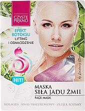 Духи, Парфюмерия, косметика Маска для лица с ядом змеи - Czyste Piekno Face Mask