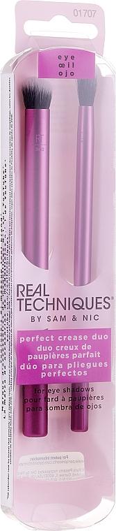 Набор кистей для макияжа глаз - Real Techniques Perfect Crease Duo
