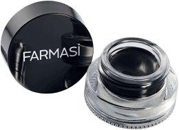 Духи, Парфюмерия, косметика Гелевая подводка для глаз - Farmasi Kajal Gel Eyeliner