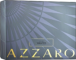Духи, Парфюмерия, косметика Azzaro Wanted - Набор (edt/100ml+deo/75ml)