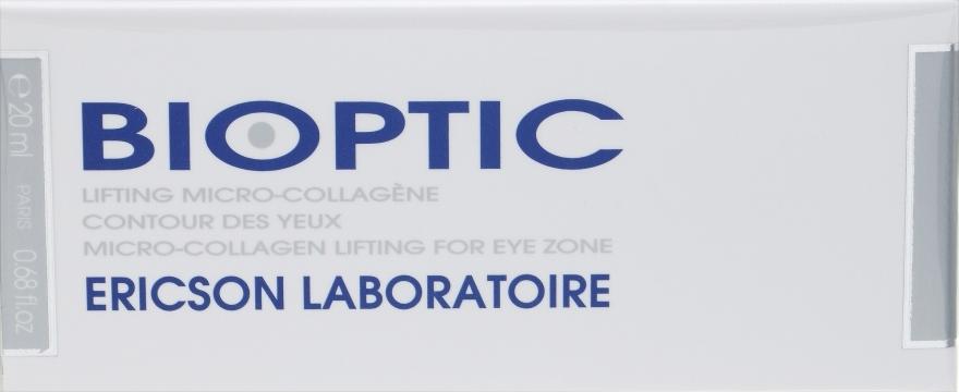 Дневной лифтинг-уход за областью вокруг глаз - Ericson Laboratoire Bio Optic Micro Collagen Lifting