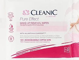 Духи, Парфюмерия, косметика Салфетки для снятия макияжа, для сухой кожи, 10 шт. - Cleanic Pure Effect Soothing