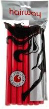 Духи, Парфюмерия, косметика Гибкие бигуди длина 180мм d13, красные - Hairway Flex-Curler Flex Roller 18cm Red