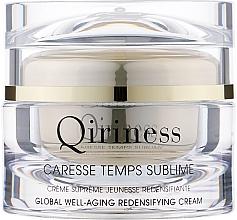 Духи, Парфюмерия, косметика Антивозрастной, восстанавливающий крем комплексного действия, натуральная линия - Qiriness Caresse Temps Sublime Global Well-Aging Redensifying Cream