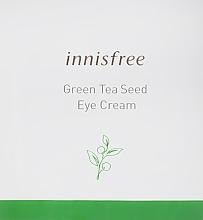 Духи, Парфюмерия, косметика Крем для век с зеленым чаем - Innisfree Green Tea Seed Eye Cream (пробник)