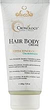 Духи, Парфюмерия, косметика Крем для тела и волос - Sweet Professional Cronology Hair Body Cream