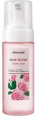 Очищающая пенка - Mamonde Rose Water BuBBle Cleansing Foam — фото N1