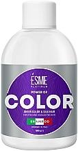 Духи, Парфюмерия, косметика Шампунь для окрашенных волос с витаминным комплексом - Esme Platinum Power of Color Shampoo