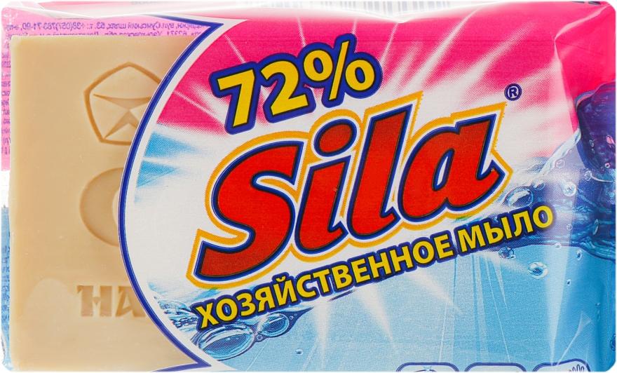 Хозяйственное мыло 72% коричневое - Sila