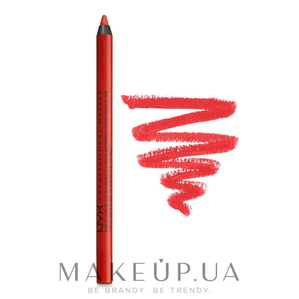 Карандаш для губ - NYX Professional Makeup Slide On Lip Pencil — фото 09 - Summer Tease