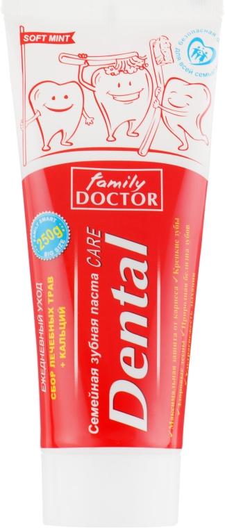 Семейная зубная паста - Family Doctor Dental Care Toothpaste