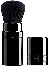 Духи, Парфюмерия, косметика Кисть для пудры в складном футляре, черная - Sephora Pincel Retractable Powder Brush