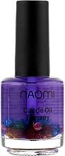"""Духи, Парфюмерия, косметика Цветочное масло для кутикулы """"Масло виноградной косточки"""" - Naomi Cuticle Oil"""
