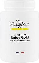 """Духи, Парфюмерия, косметика Альгинатная маска """"Золотое наслаждение"""" - Beautyhall Algo Peel Off Mask Enjoy Gold"""