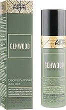 Парфумерія, косметика Спрей для ніг - Estel Professional Alpha Homme Genwood Deofresh Foot Spray