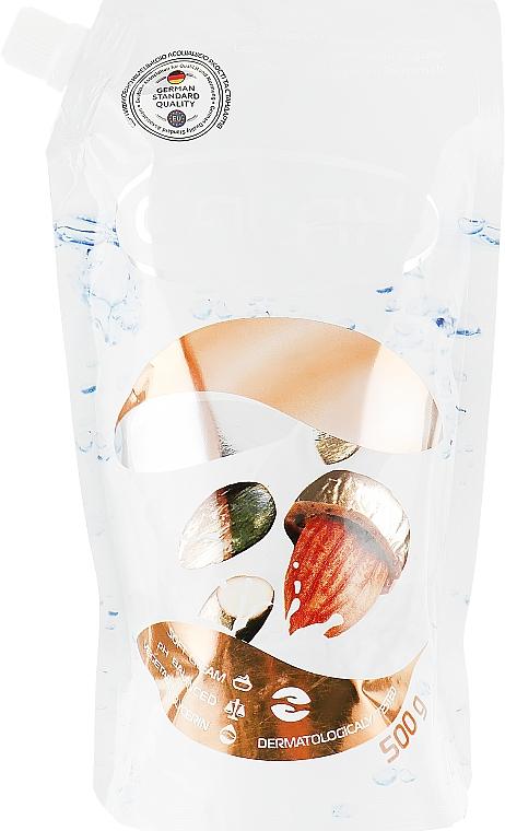 Антибактериальное жидкое мыло «Миндаль и увлажняющее молочко» - Galax (дой-пак)