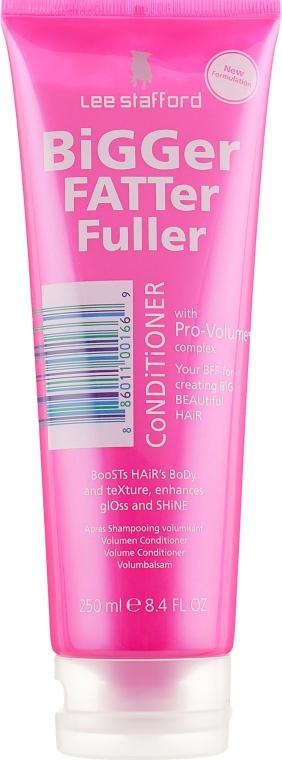 Кондиционер для придания объема волосам - Lee Stafford Bigger Fatter Fuller Conditioner