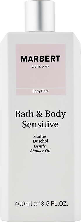 Масло для душа - Marbert Bath & Body Sensitive Gentle Shower Oil