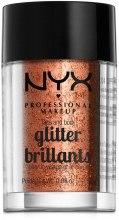 Парфумерія, косметика Гліттер для обличчя і тіла - NYX Professional Makeup Face & Body Glitter